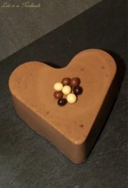 Flans au chocolat & crème d'amande (2)