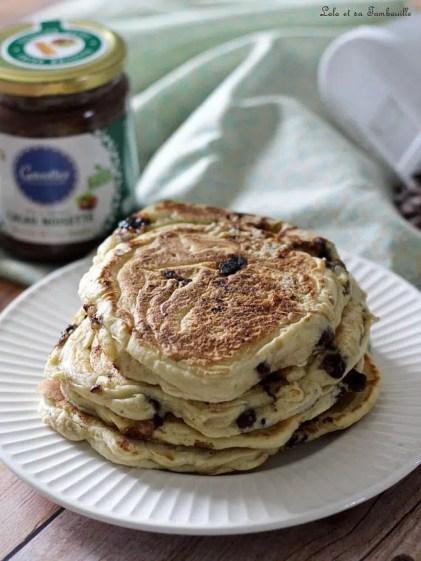 Pancakes pépites de chocolat (5)