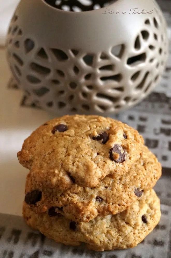 Cookies au son d'avoine & pépites de chocolat (1)