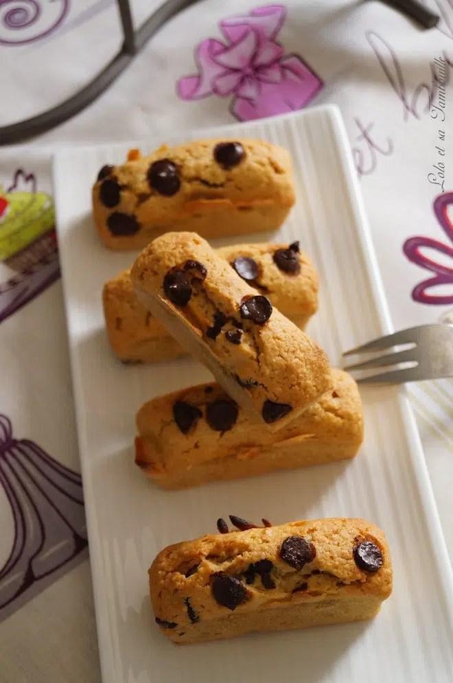 Douceurs au beurre de cachuètes & pépites de chocolat {comme des financiers} (7)