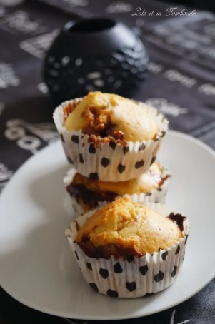 Muffins aux snickers {au lait ribot} (7)