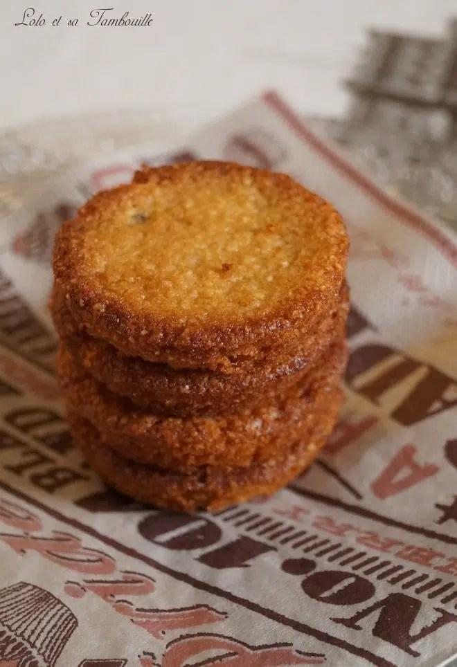 Biscuits croquants aux pépites de chocolat (4)