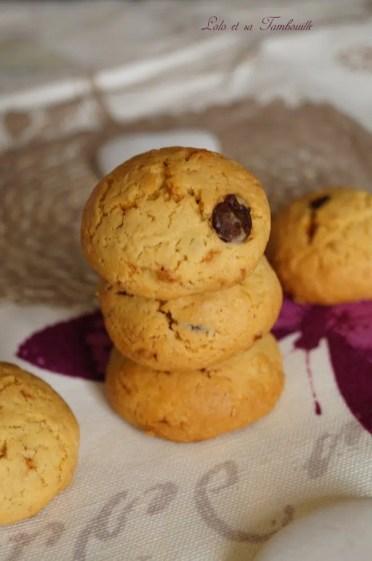 Biscuits vanillés & pépites de chocolat {avec jaunes d'oeufs} (3)