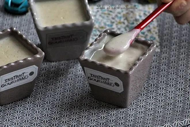 Crèmes vanille {façon Danette}