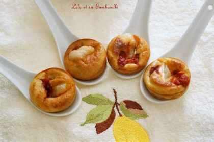 Mini pizza express {au chèvre & tomate} (2)