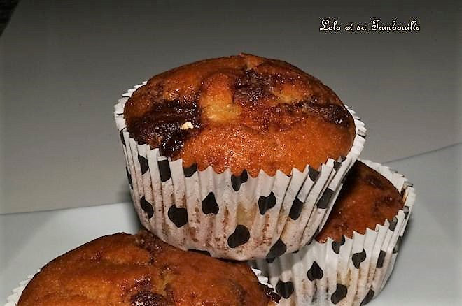 Muffins au Toblérone