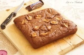 Brownie fondant aux snickers (2)