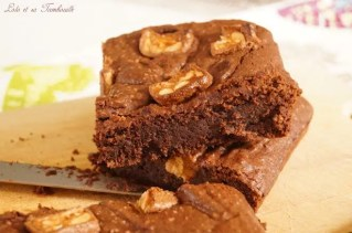 Brownie fondant aux snickers (3)
