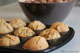 Muffins à la pomme, noix & spéculoos (4)