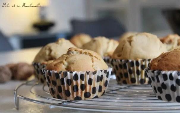Muffins à la pomme, noix & spéculoos (6)