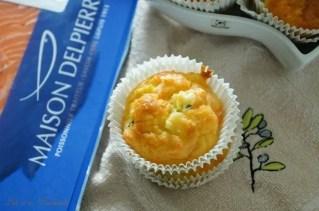 Muffins aux courgettes & saumon fumé (1)