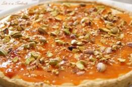 Tarte aux abricots & chocolat blanc {pâte sablée aux spéculoos (4)