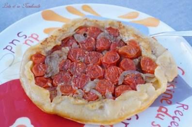 Tarte tatin aux tomates cerises (2)