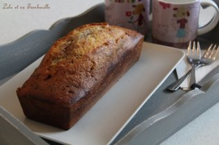 Cake marbré à la pâte à tartiner (2)