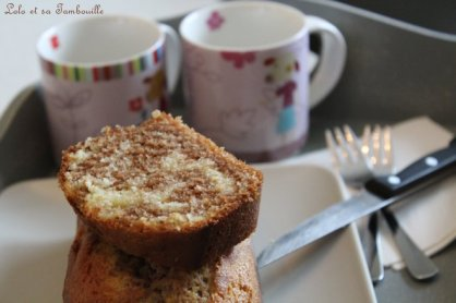 Cake marbré à la pâte à tartiner (4)