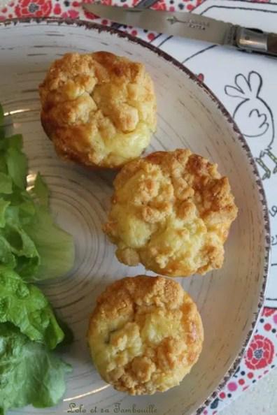 Muffins crumble au chorizo & chèvre (10)