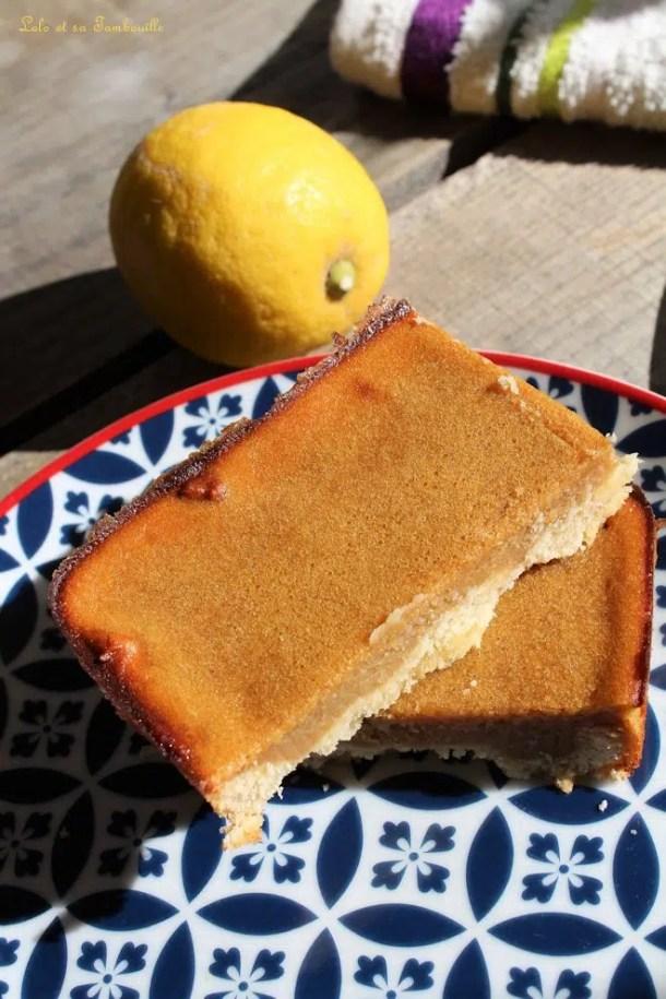 Crousti-fondant au citron