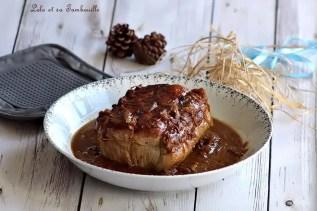 Rôti de porc au miel & oignons (5)