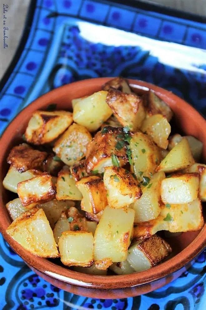 Batata Harra {pommes de terre épicées à la libanaise}