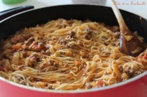 One Pot pasta à la bolognaise (5)