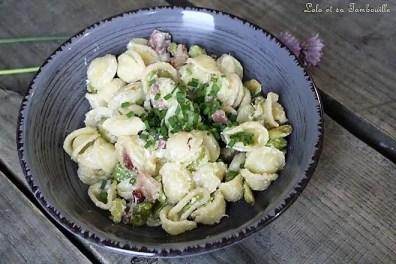 Orrechiettes aux fèves & lardons (3)