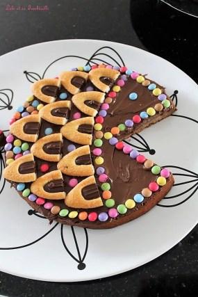 Poisson chocolaté {gâteau praliné} (5)