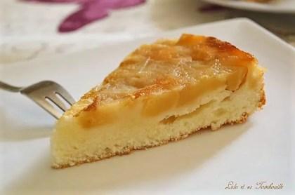 Gâteau moelleux au yaourt & pommes caramélisées (4)