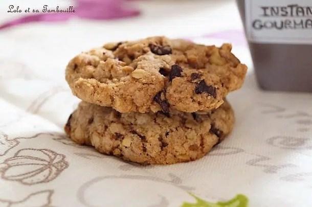 Oatmeal cookies {cookies à l'ancienne de Laura Todd}