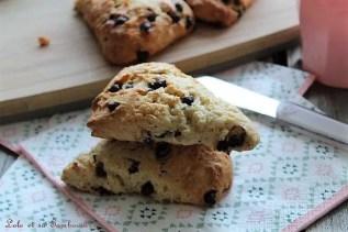 Scones aux pépites de chocolat (4)