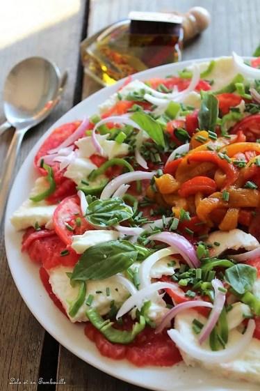 Tomates à la mozzarella Treccia (1)