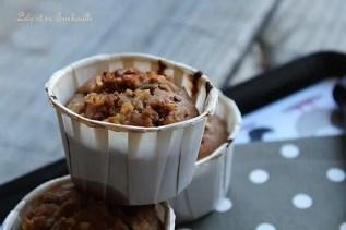 Muffins à la farine de chataignes & pommes (6)