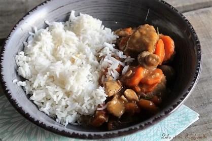 Sauté de veau aux champignons & carottes (3)