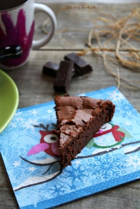 Gâteau au chocolat & fromage blanc (5)