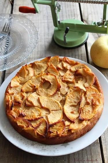 Gâteau invisible aux pommes (3)