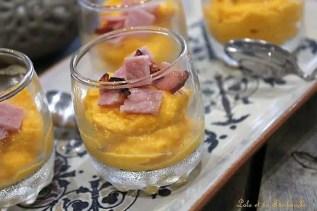 Verrines de butternut & bacon (6)
