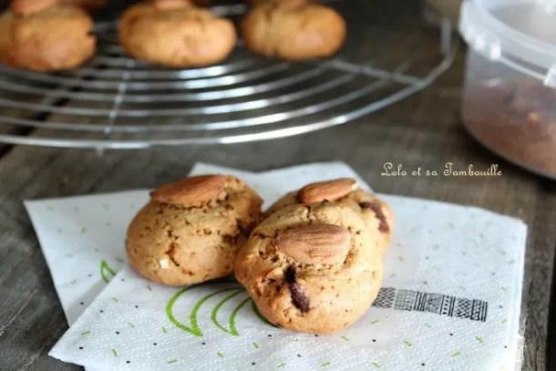 Biscuits à la purée d'amandes & sucre de coco