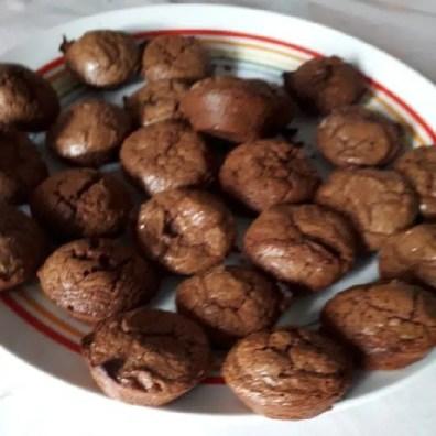 Bouchées fondantes chocolat Brigitte