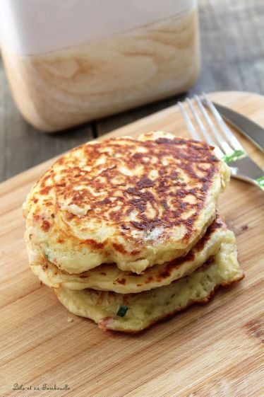 Pancakes au lait ribot {bacon & comté] (7)