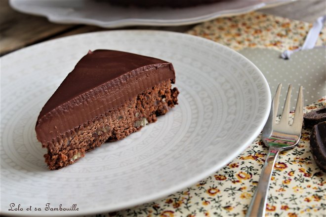 Entremets fraîcheur au chocolat