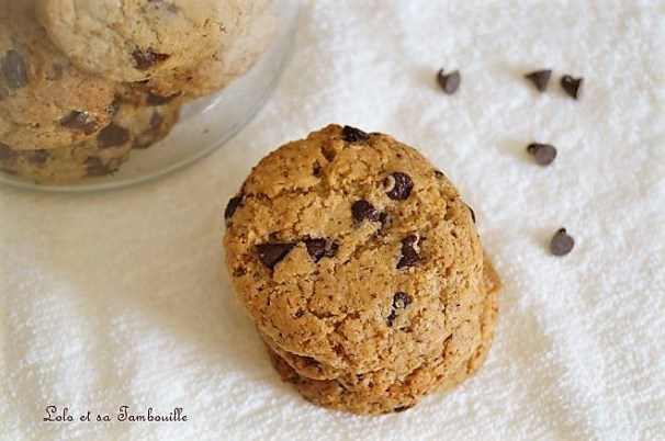Cookies aux noisettes & pépites de chocolat (6)