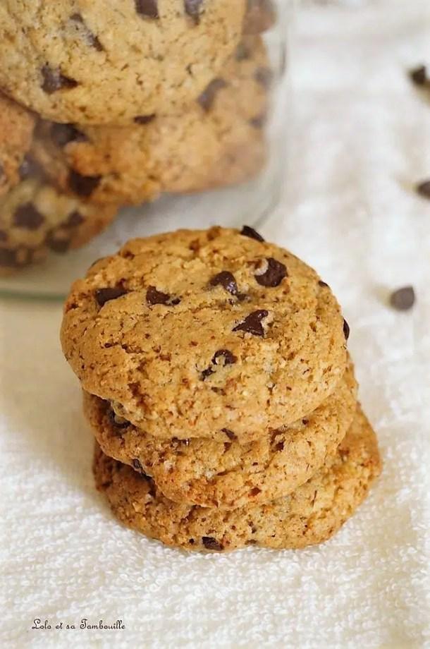 Cookies aux noisettes & pépites de chocolat