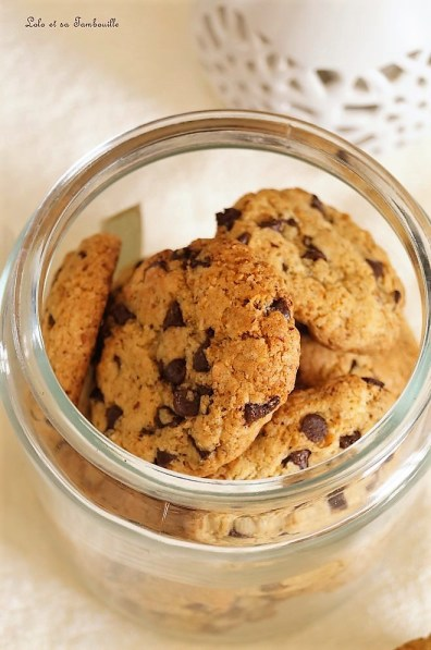 Cookies aux noisettes & pépites de chocolat (8)