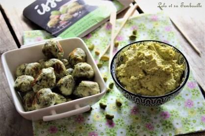 Pesto de pistache & coriandre (2)