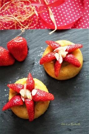 Amandiers rhubarbe & fraises (5)