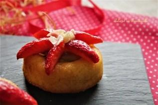 Amandiers rhubarbe & fraises (6)