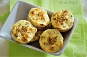 Cheesecakes au chèvre frais & bacon (1)