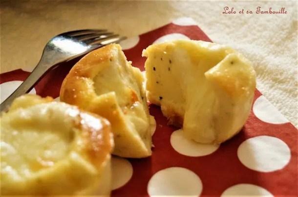 Moelleux mozzarella & chèvre