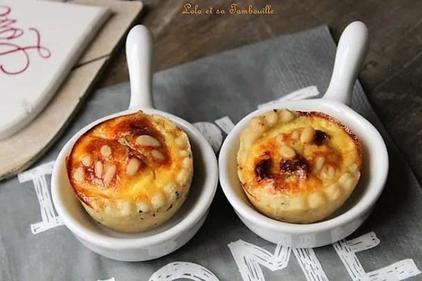 Tartelettes aux tomates séchées & yaourt à la Grecque