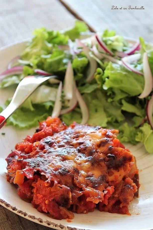 Gratin d'aubergines facile au four