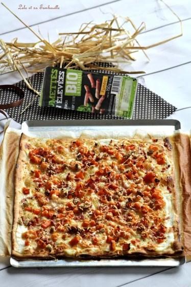 Pizza butternut & lardons (5)